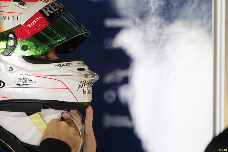 Sebastian Vettel, Red Bull Racing, Practice, Formula One World Championship, Round 15, Japanese Grand Prix, Suzuka Circuit, Mie Prefecture, Japan. Friday 5 October 2012.