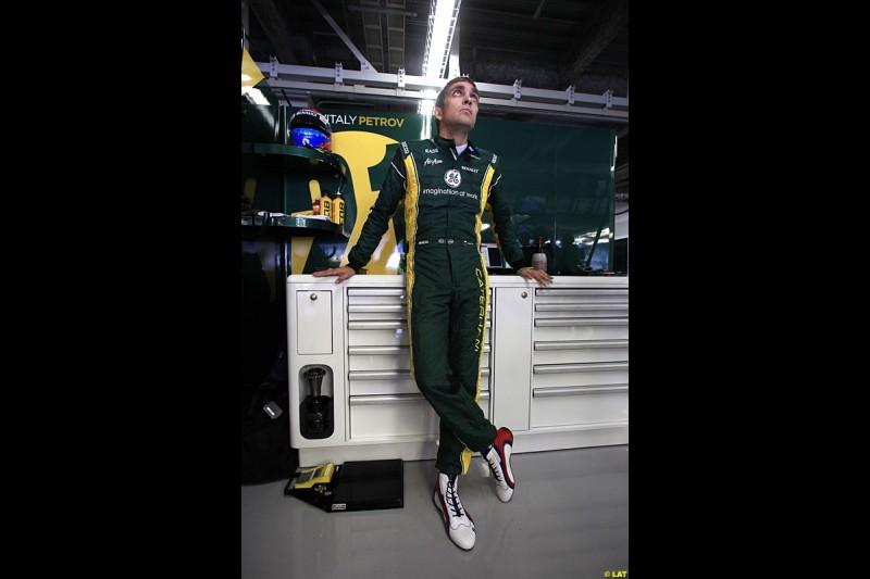 Vitaly Petrov, Caterham F1 Team, Practice, Formula One World Championship, Round 15, Japanese Grand Prix, Suzuka Circuit, Mie Prefecture, Japan. Friday 5 October 2012.