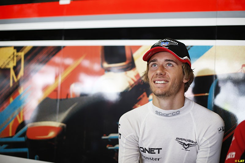 Charles Pic, Marussia F1, Practice, Formula One World Championship, Round 15, Japanese Grand Prix, Suzuka Circuit, Mie Prefecture, Japan. Friday 5 October 2012.