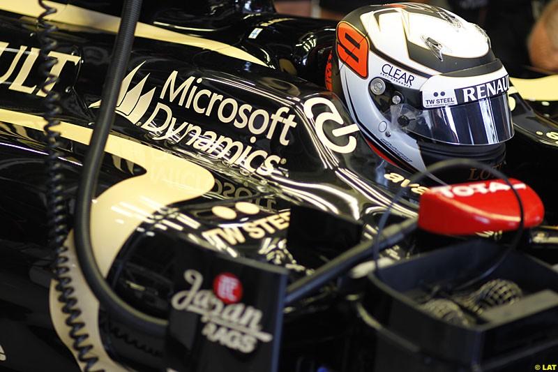 Kimi Raikkonen, Lotus F1 Team, Practice, Formula One World Championship, Round 15, Japanese Grand Prix, Suzuka Circuit, Mie Prefecture, Japan. Friday 5 October 2012.