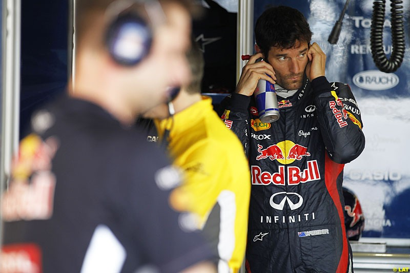 Mark Webber, Red Bull Racing, Practice, Formula One World Championship, Round 15, Japanese Grand Prix, Suzuka Circuit, Mie Prefecture, Japan. Friday 5 October 2012.