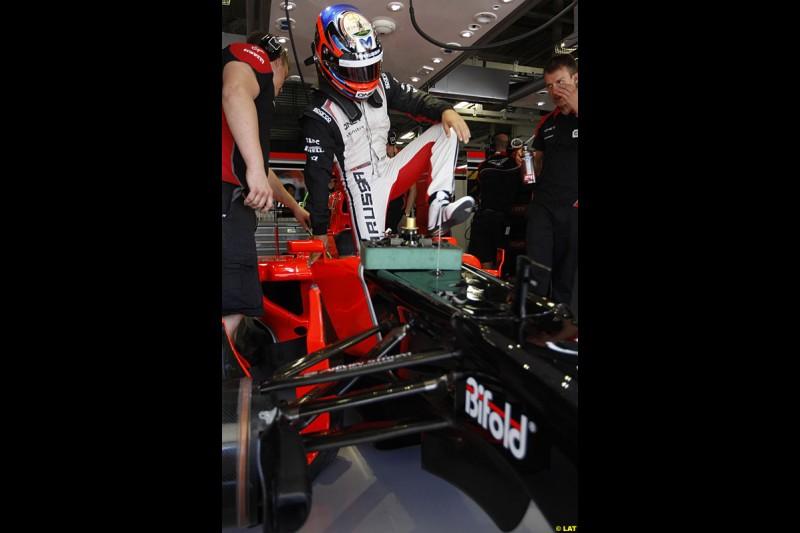 Timo Glock, Marussia MR01, Practice, Formula One World Championship, Round 15, Japanese Grand Prix, Suzuka Circuit, Mie Prefecture, Japan. Friday 5 October 2012.