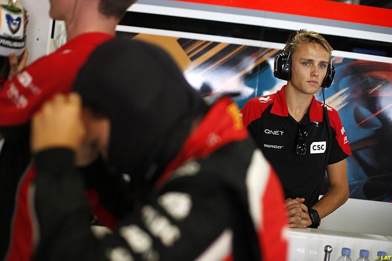 Max Chilton, Marussia F1, Practice, Formula One World Championship, Round 15, Japanese Grand Prix, Suzuka Circuit, Mie Prefecture, Japan. Friday 5 October 2012.