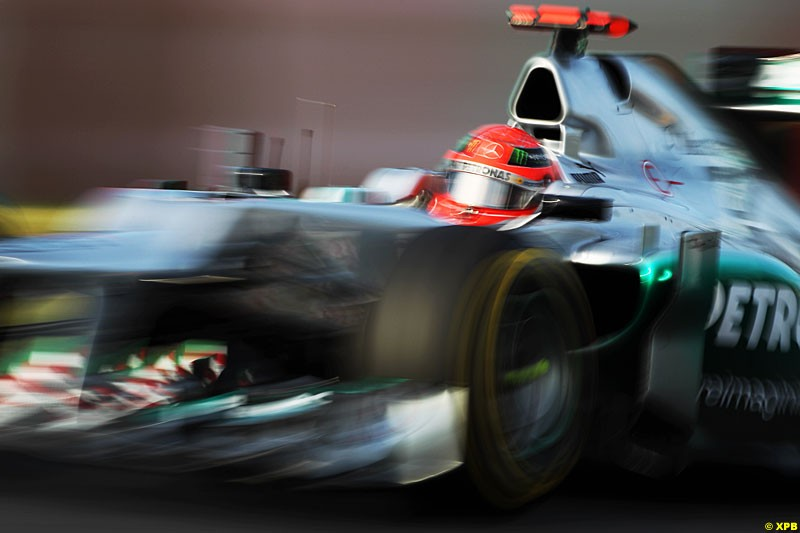 Michael Schumacher, Mercedes W03, Practice, Formula One World Championship, Round 15, Japanese Grand Prix, Suzuka Circuit, Mie Prefecture, Japan. Friday 5 October 2012.