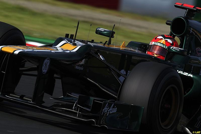 Heikki Kovalainen Caterham CT01, Practice, Formula One World Championship, Round 15, Japanese Grand Prix, Suzuka Circuit, Mie Prefecture, Japan. Friday 5 October 2012.