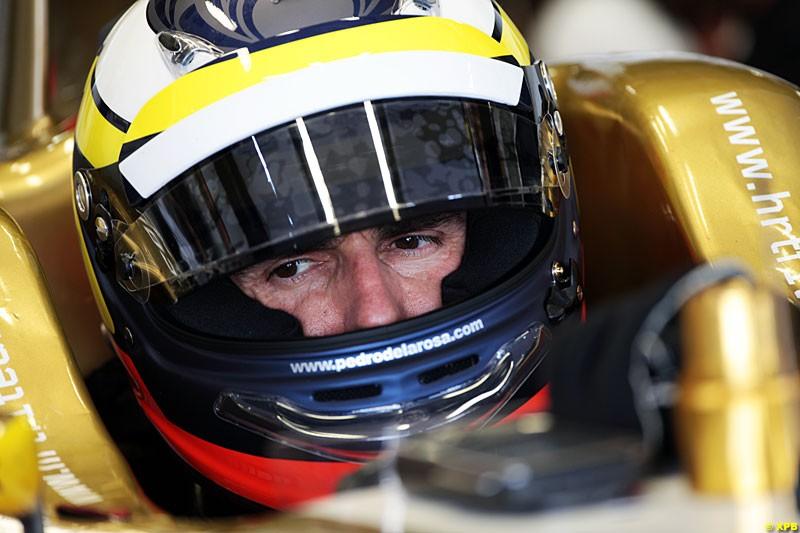 Pedro de La Rosa, HRT Formula 1 Team, Practice, Formula One World Championship, Round 15, Japanese Grand Prix, Suzuka Circuit, Mie Prefecture, Japan. Friday 5 October 2012.