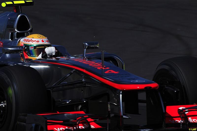 Lewis Hamilton, McLaren MP4-27, Practice, Formula One World Championship, Round 15, Japanese Grand Prix, Suzuka Circuit, Mie Prefecture, Japan. Friday 5 October 2012.