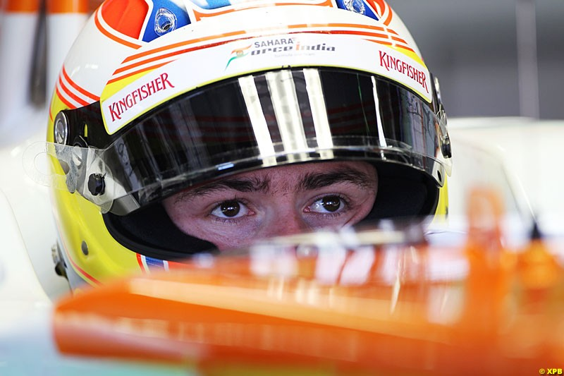 Paul di Resta, Force India F1, Practice, Formula One World Championship, Round 15, Japanese Grand Prix, Suzuka Circuit, Mie Prefecture, Japan. Friday 5 October 2012.