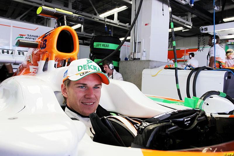 Nico Hulkenberg, Force India F1, Practice, Formula One World Championship, Round 15, Japanese Grand Prix, Suzuka Circuit, Mie Prefecture, Japan. Friday 5 October 2012.