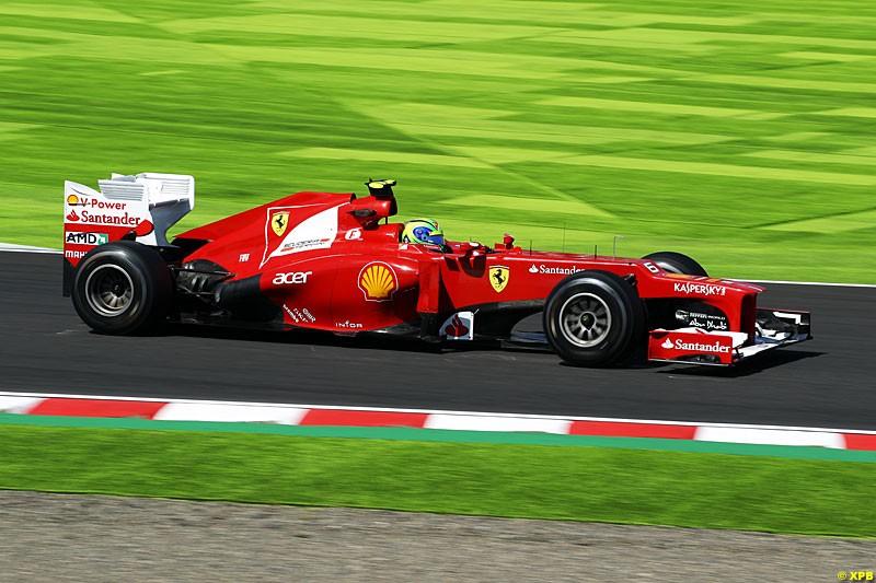Felipe Massa, Ferrari F2012, Practice, Formula One World Championship, Round 15, Japanese Grand Prix, Suzuka Circuit, Mie Prefecture, Japan. Friday 5 October 2012.