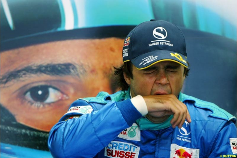 Felipe Massa, British GP, Friday July 9th, 2004.