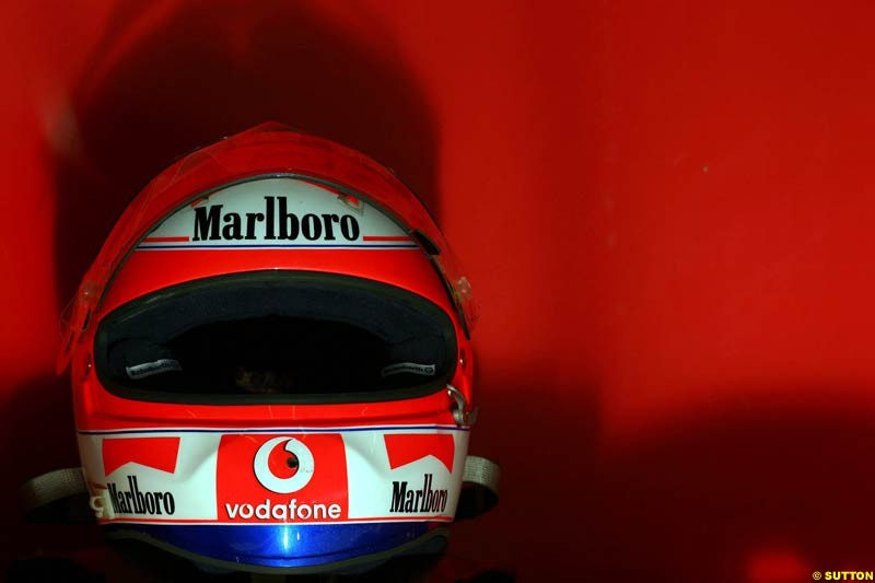 Rubens Barrichello, Jerez testing, Wednesday July 14th, 2004.