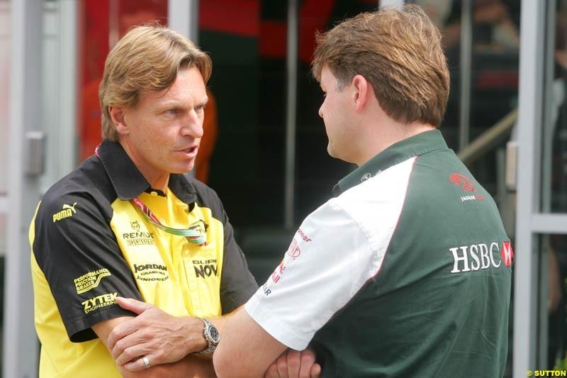 David Sears, German GP, Saturday July 24th, 2004.