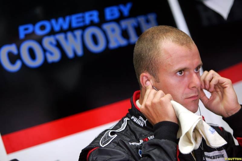 Gimmi Bruni, German GP, Saturday July 24th, 2004.