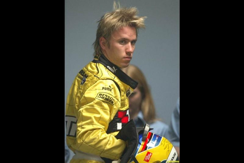 Nick Heidfeld, German GP, Saturday July 24th, 2004.