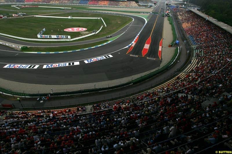 German GP, Saturday July 24th, 2004.