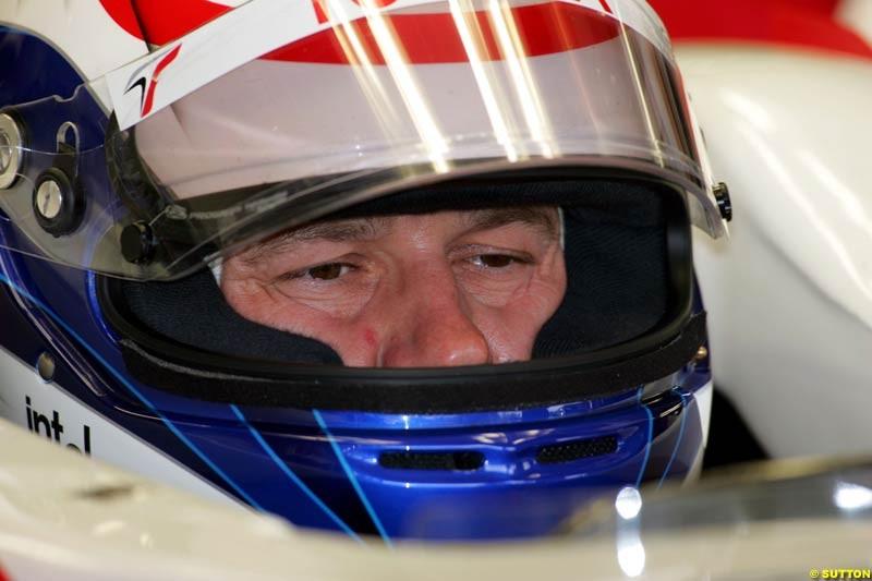 Olivier Panis, German GP, Saturday July 24th, 2004.