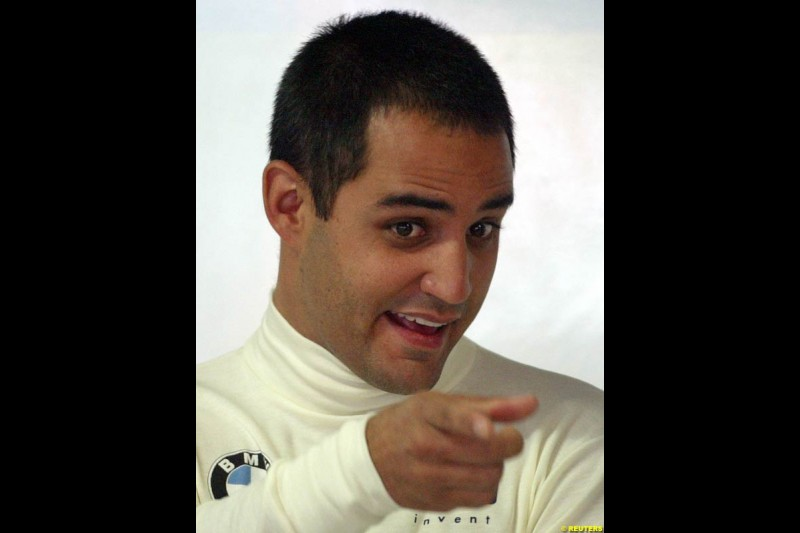 Juan Pablo Montoya. German Grand Prix, Hockenheim, July 24th, 2004.