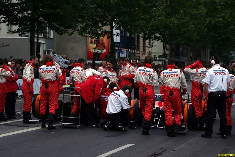 Toyota City Grand Prix, Cologne, Germany; August 22nd, 2004.