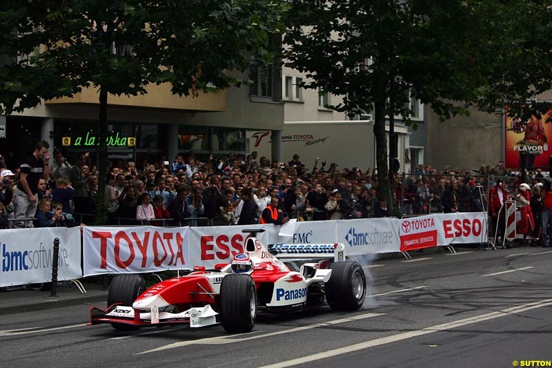Olivier Panis, Toyota City Grand Prix, Cologne, Germany; August 22nd, 2004.