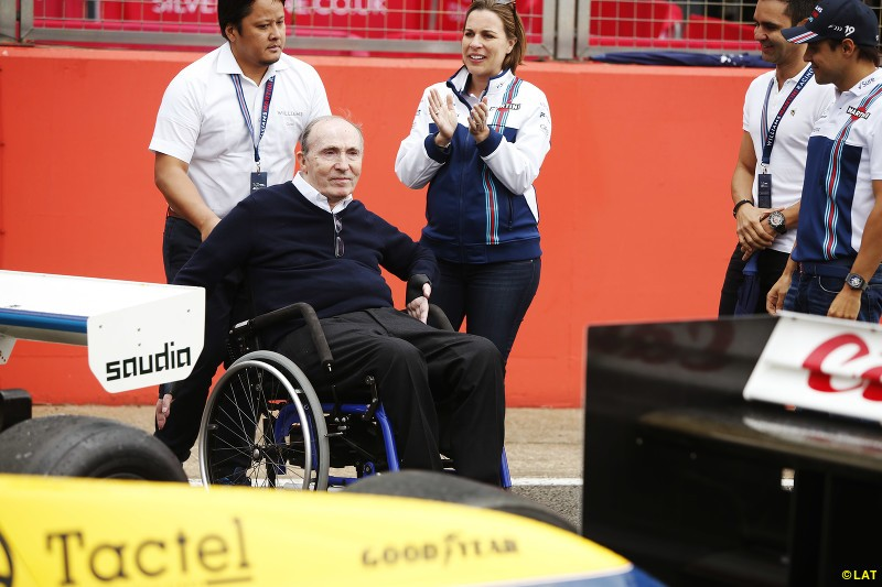 Frank Williams celebrated 40 years in charge of the Williams team in a special commemorative event at Silverstone in 2017, attended by drivers past and present. On-track, his team held fifth in the constructors championship for the second year in a row.