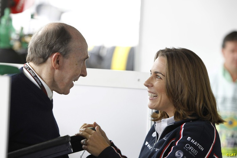Having held various roles in the family team, including head of communications and director of marketing, Claire Williams takes over the day-to-day running of Williams in 2013 as deputy team principal. Frank, who had left his role on the board in 2012, retains the title of team principal.
