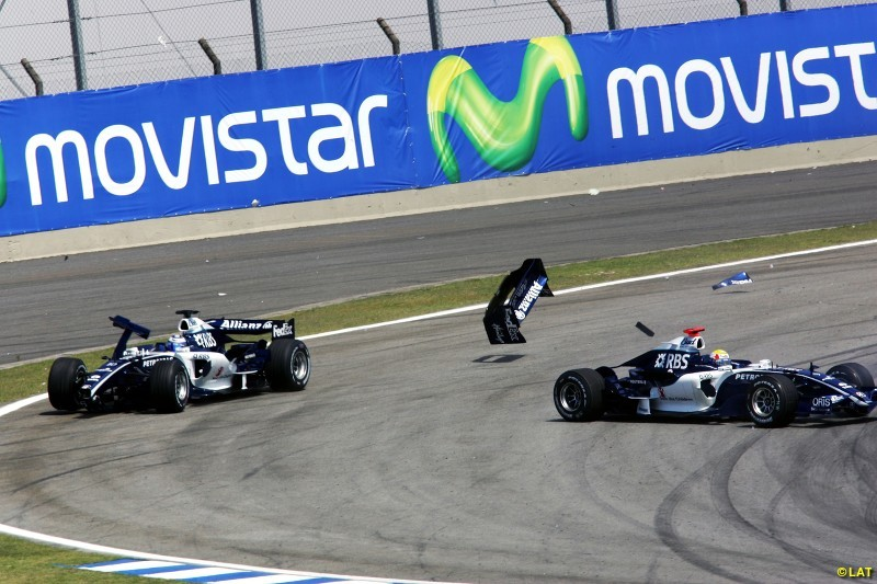 A season with Cosworth engines in 2006 was disastrous as Williams slid down to eighth in the standings. It's strongest showing came at Monaco, where circuit specialist Mark Webber qualified second, only for his day to end with exhaust failure. Rookie Nico Rosberg showed promise, but blotted his copybook by crashing into team-mate Webber in Brazil.