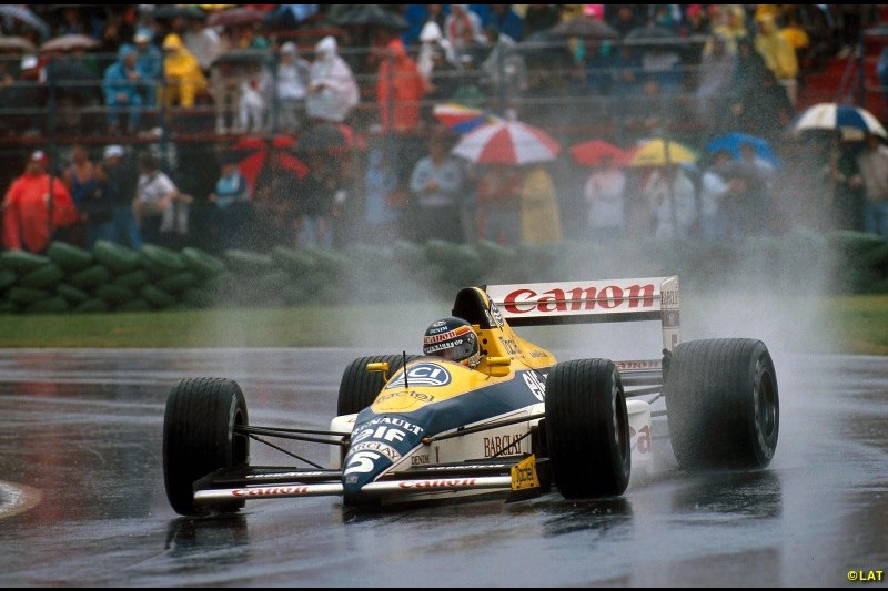 Williams was usurped by McLaren in the late 1980s as F1's benchmark team, but a new partnership with Renault in 1989 would prove fruitful. Thierry Boutsen scored its first win in a wet Canadian Grand Prix that year after Senna's McLaren retired late on.