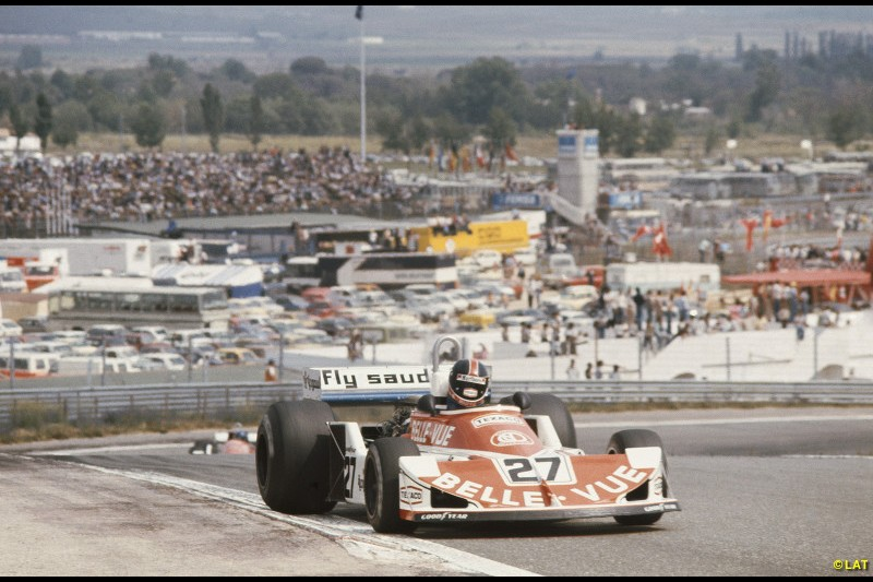 After selling a majority share in his team to Walter Wolf in 1976, Williams decided to found a new team - Williams Grand Prix Engineering - in 1977. The team made its debut at Jarama, with Patrick Neve driving a customer March to an unremarkable 12th place, four laps down.