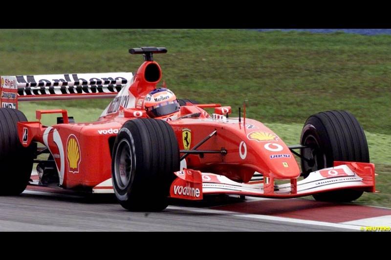 2002 Malaysian Grand Prix - Qualifying. Sepang, Malaysia, 16th March 2002.