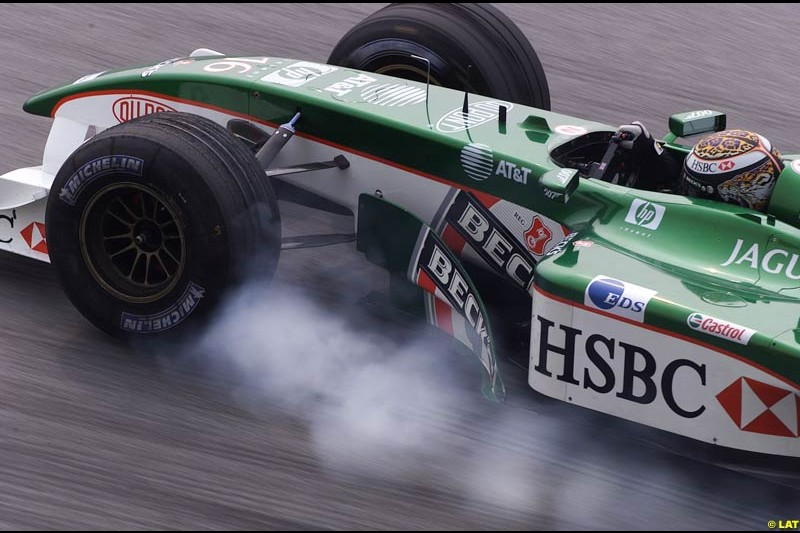 2002 Malaysian Grand Prix - Saturday Free Practice. Sepang, Malaysia, 16th March 2002.