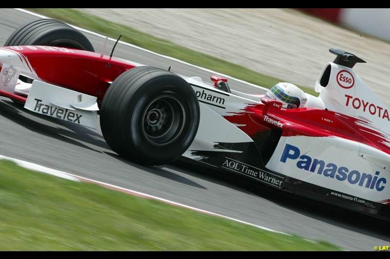 2002 Spanish Grand Prix, Barcelona, Spain. Friday, 25th April 2002.