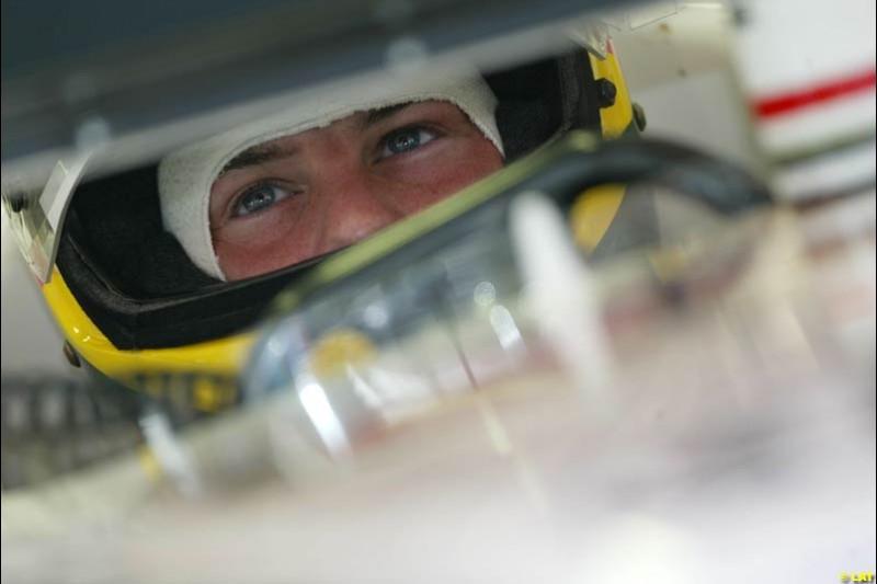 2002 Spanish Grand Prix, Barcelona, Spain. Friday, 25th April 2002. Jacques Villeneuve, BAR