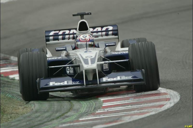 2002 Spanish Grand Prix, Barcelona, Spain. Sunday warm-up. 28th April 2002.