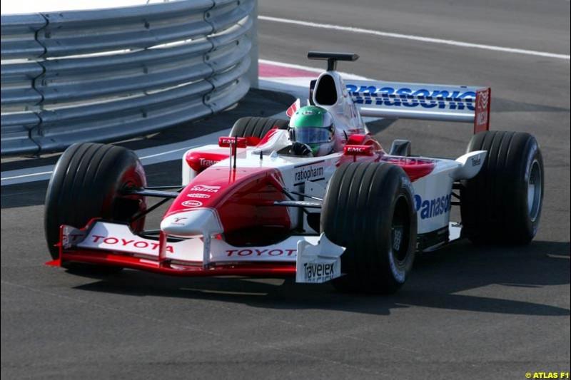Tora Takagi, Toyota, 2002 Formula One Testing, Paul Ricard, France. 16th May 2002.