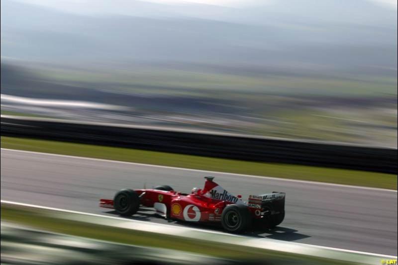 2002 Austrian Grand Prix - Qualifying. A1 Ring, Austria. 11th May 2002.