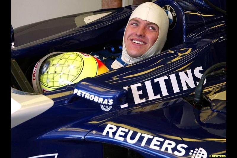 2002 Austrian Grand Prix - Saturday free practice. A1 Ring, Austria. 11th May 2002. Ralf Schumacher, Williams