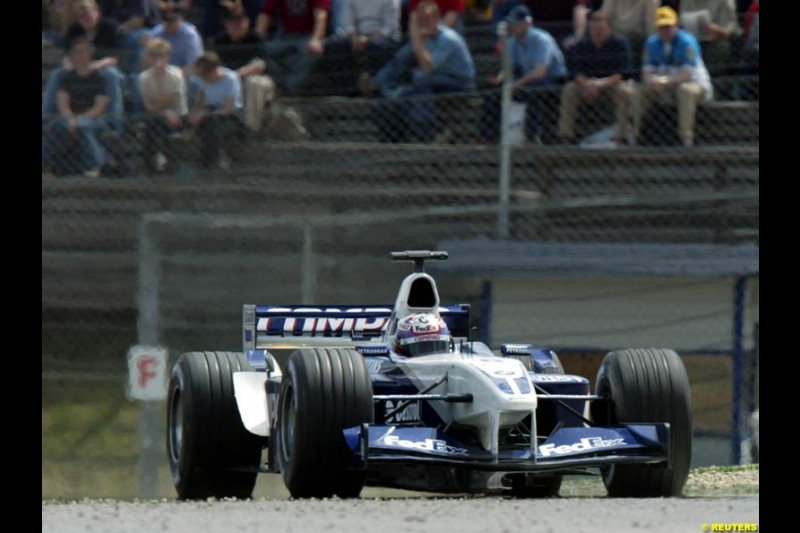 2002 Austrian Grand Prix - Friday free practice. A1 Ring, Austria. 10th May 2002.