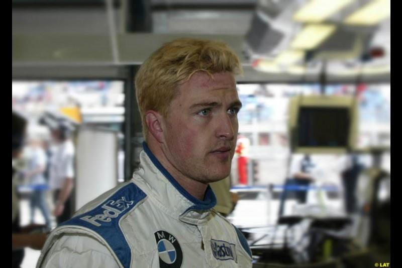 2002 Austrian Grand Prix - Friday free practice. A1 Ring, Austria. 10th May 2002. Ralf Schumacher, Williams