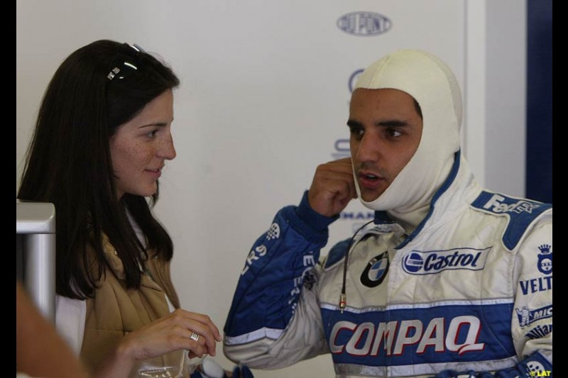 2002 Austrian Grand Prix - Friday free practice. A1 Ring, Austria. 10th May 2002. Juan Pablo Montoya, Williams
