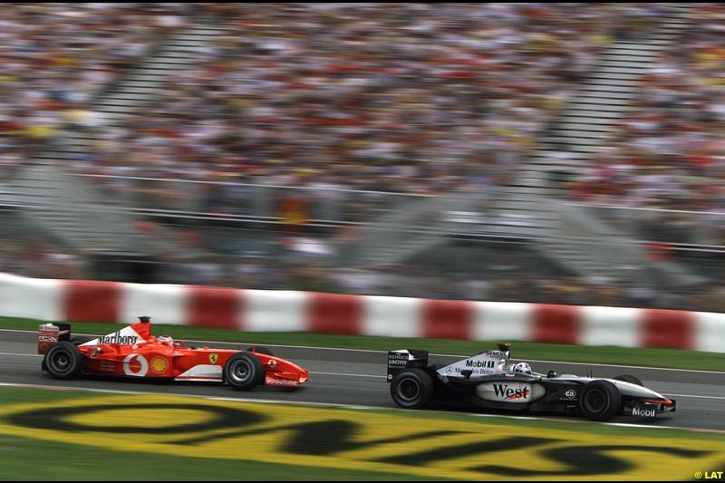 2002 Canadian Grand Prix - Sunday Race. Montreal, Canada. 9th June 2002.