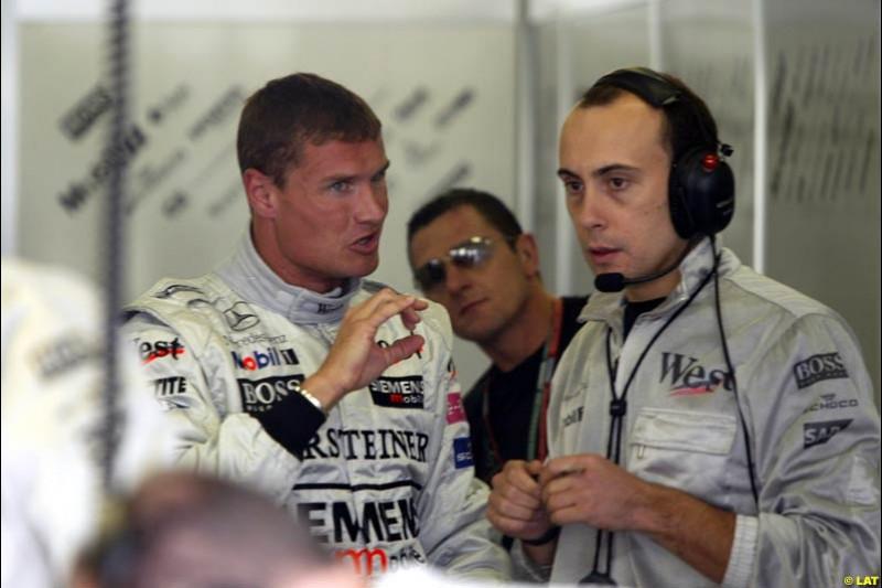 2002 European Grand Prix - Friday Practice Nurburgring, Germany. 21st June 2002.