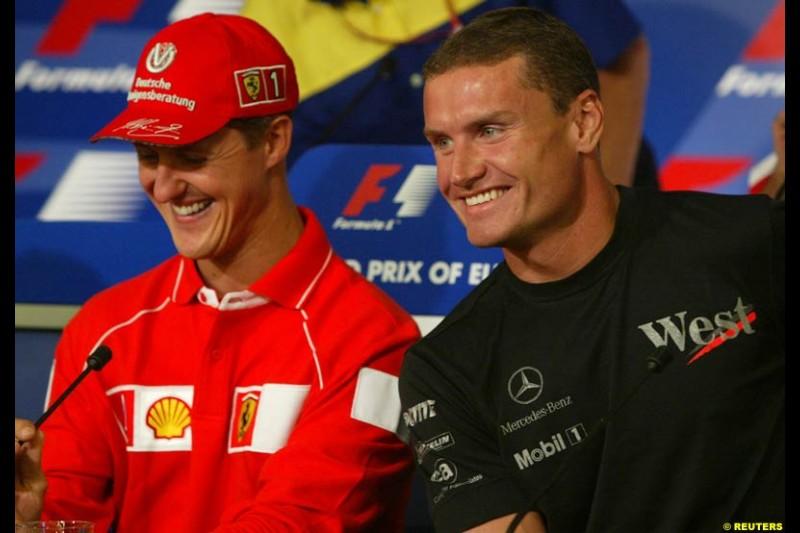 2002 European Grand Prix - Thursday. Nurburgring, Germany. 20th June 2002.