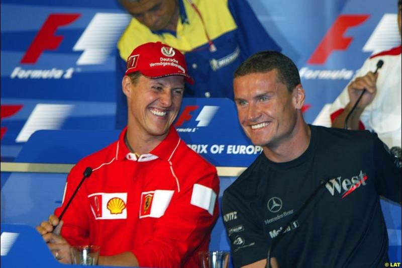 2002 European Grand Prix - Thursday. Nurburgring, German. 20th June 2002.