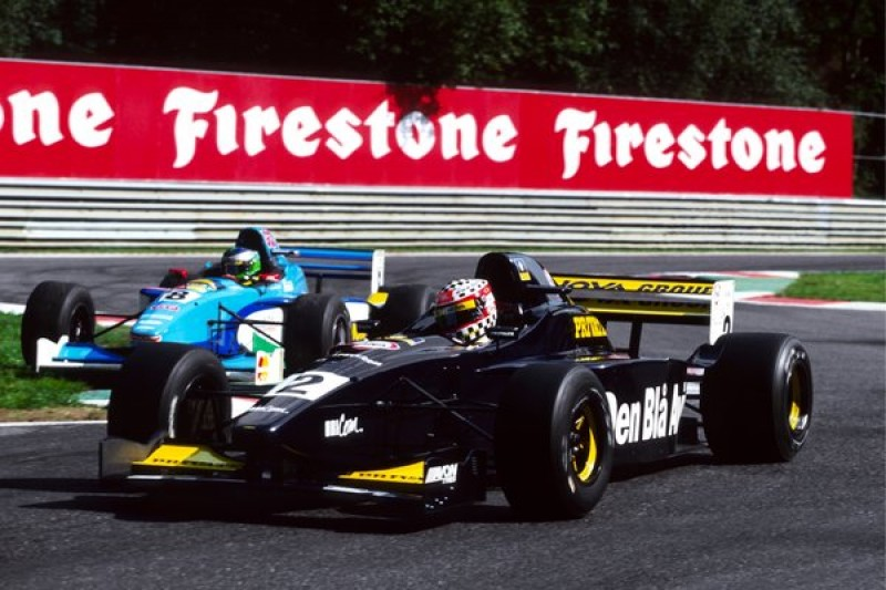 Twenty years ago this weekend, this was the battle for victory in the Belgian GP supporting Formula 3000 race - Jason Watt fending off Gonzalo Rodriguez.<br><br>Both were drivers who could've made it to F1, but tragedy struck both within a month of that Spa race. Rodriguez was killed in a Champ Car crash at Laguna Seca, and Watt was left paralysed in a motorcycle crash just after also winning the F3000 finale at the Nurburgring - though he would later return to racing in an adapted car.<br><br>The 20th anniversary of the Watt/Rodriguez fight probably won't be on many people's minds in the Spa paddock this weekend, but we felt it was worth marking.