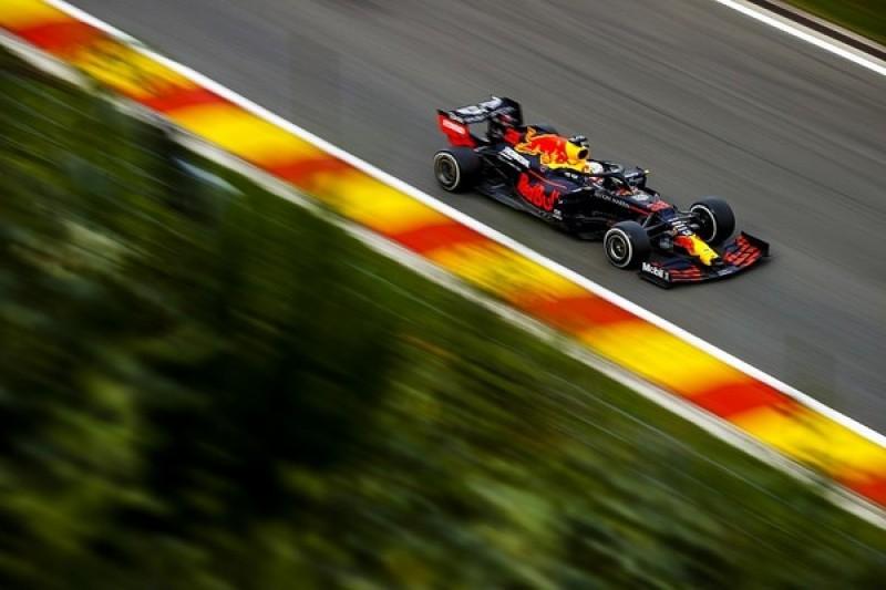 F1 Belgian GP: Verstappen leads Ricciardo in second practice at Spa