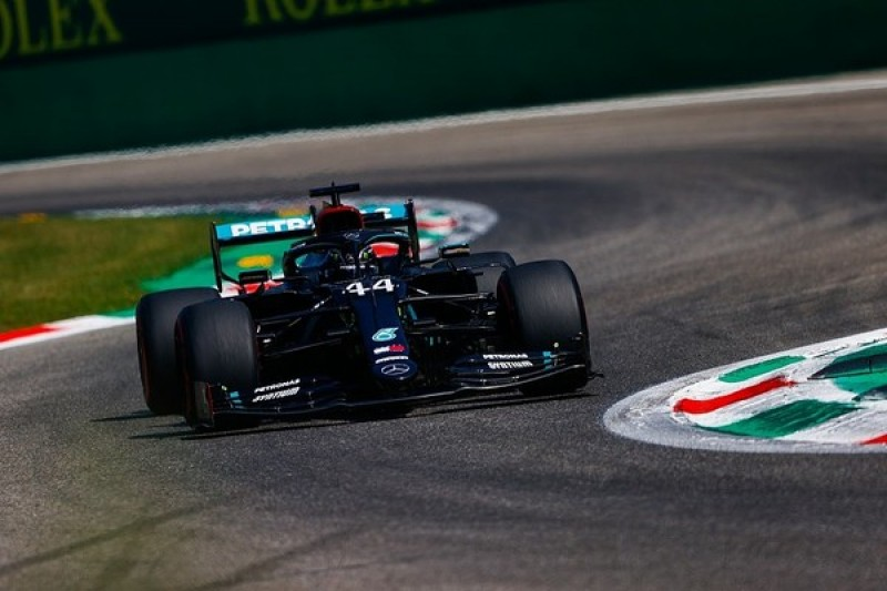 F1 Italian GP qualifying: Hamilton takes pole with fastest lap in history