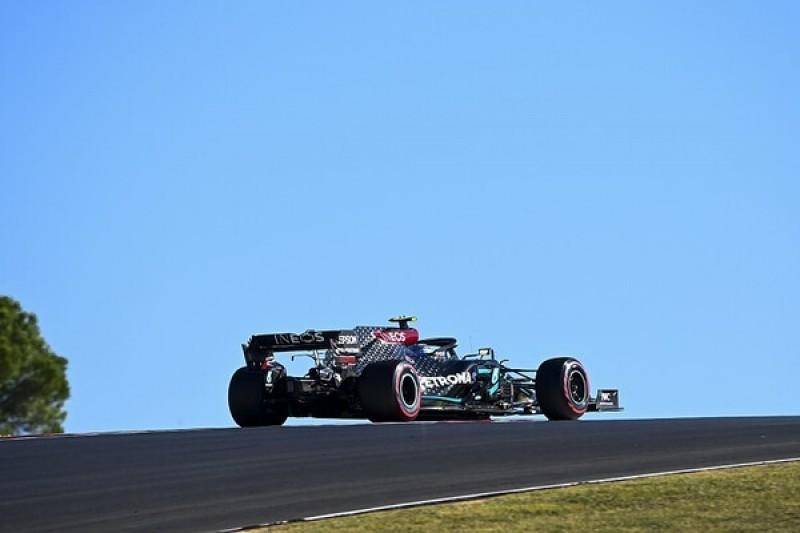 Bottas heads twice red-flagged F1 Portuguese GP FP2