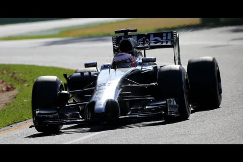 Jenson Button F1 McLaren 2014