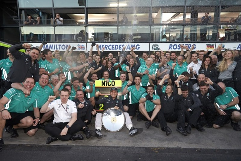Nico Rosberg Australian Grand Prix